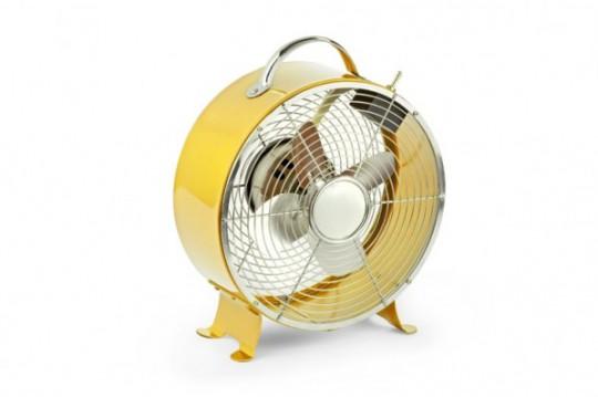 Ventilateur métallique rétro