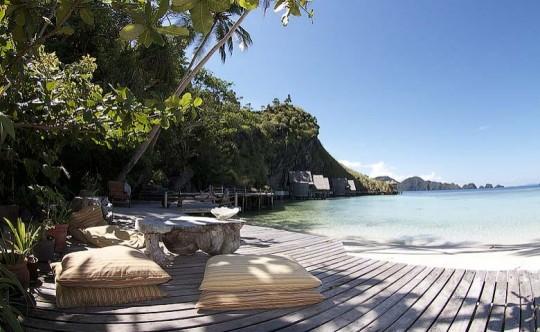 Misool eco resort, Bungalow de luxe à louer en Indonésie