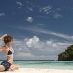 Misool eco resort, superbe plage privée à Raja Ampat