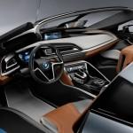 BMW i8 spyder, design intérieur