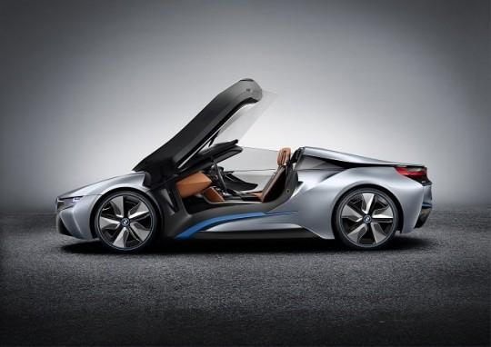 BMW i8 roadster avec portes en elytres