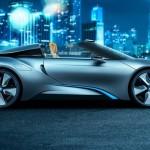 BMW i8 spyder, roadster électrique