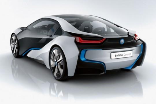 BMW i8 photo de l'arrière
