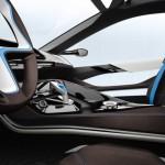 BMW i8, intérieur design