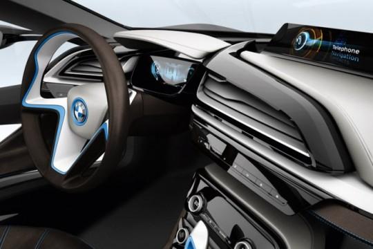 BMW i8 tableau de bord