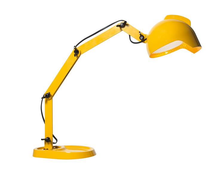 duii lampe de table jaune par diesel with foscarini. Black Bedroom Furniture Sets. Home Design Ideas