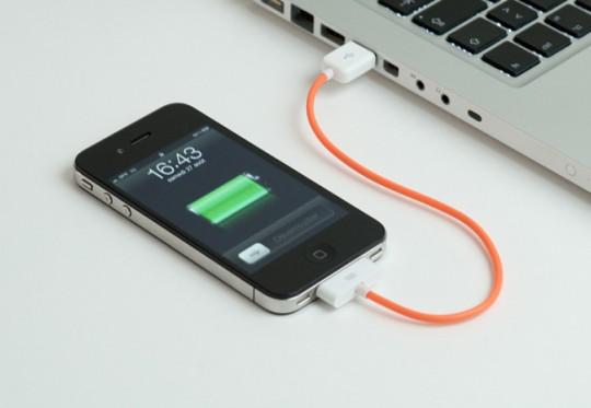 Câble iPhone La pieuvre à lunettes