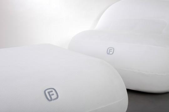 FUGU : coussins gonflables géants
