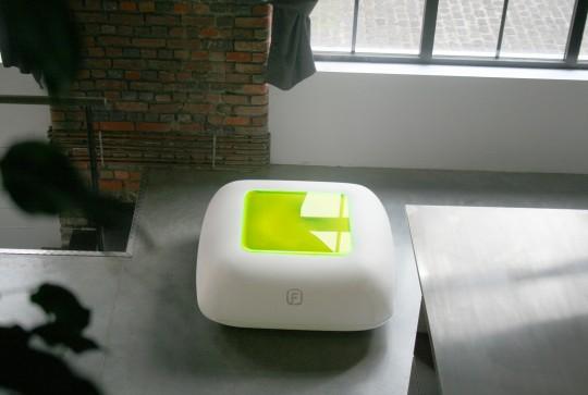FUGU : Table basse gonflable design