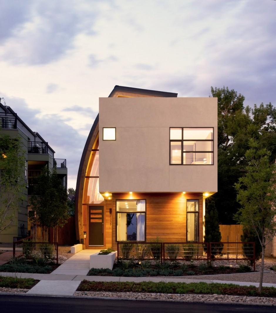 Shield House, une maison qui protège des regards avec son «bouclier» !