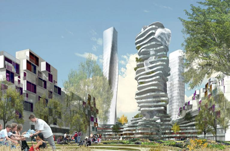 Bientôt une tour de grande hauteur au nord de Paris ?