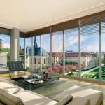 Appartement avec baie vitrée Paris 7 Rive Gauche