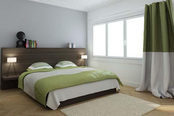 Chambre d 39 un appartement de la r sidence paris 7 rive gauche for Adresse chambre des notaires de paris