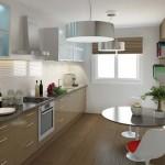Cuisine d'un appartement de la résidence Paris 7 Rive Gauche
