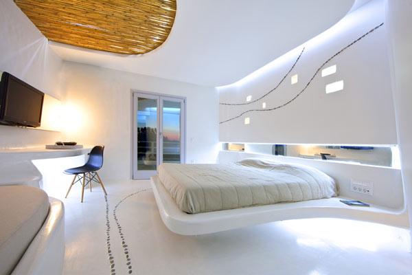 Les suites Cocoon de l'hôtel Andronikos sur l'île de Mykonos