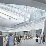 Gare de Honk Kong de West Kowloon (intérieur)
