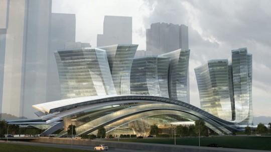 Gare de métro à grande vitesse de Honk Kong
