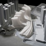 Gare de métro à grande vitesse de Honk Kong (maquette)