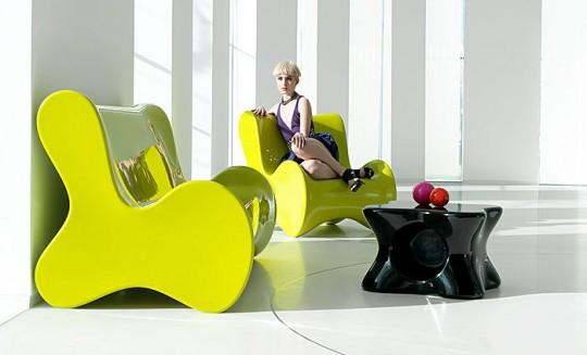 Canapé design organique Vondom Doux