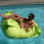 Pouf pour piscine - déco Secret Story 6