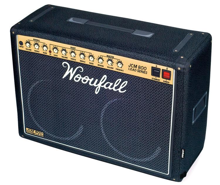 Pouf amplificateur guitare électrique Wooufall