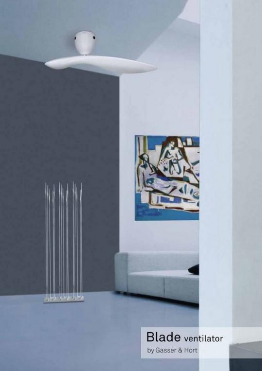 Ventilateur de plafond design Blade
