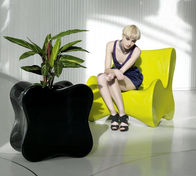 Vondom Doux, fauteuil d'extérieur design