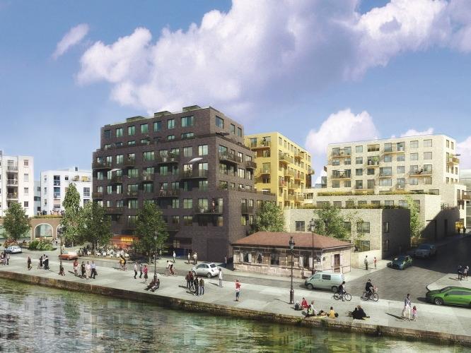 Canal Square, loft à Paris par Bouwfonds Marignan