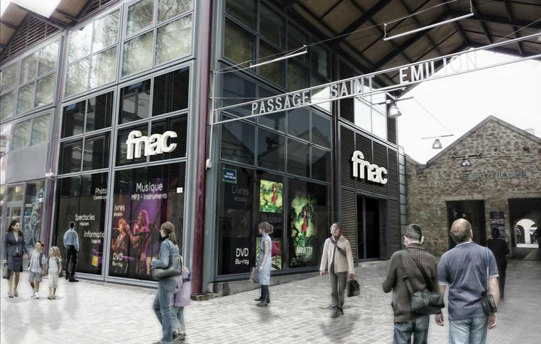 FNAC Bercy Village