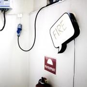 Snakkes : Applique LED design et tableau mémo
