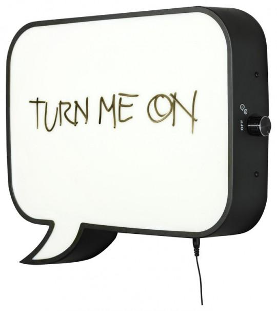Snakkes, applique LED et tableau mémo par Northern Lighting
