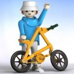 Vive le vélo pliant Strida Playmobile !