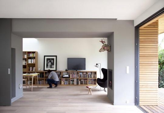 Maison en bois éco-durable à Antony (Paris)