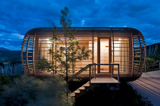 Fincube, maison en bois mobile et écologique