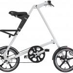 Strida LT blanc, le vélo pliant avec des roues à bâtons