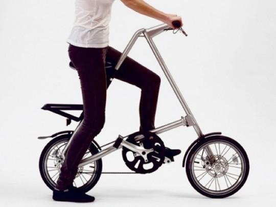 Vélo pliant en 3 secondes Strida