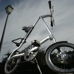 Vélo pliant design Strida
