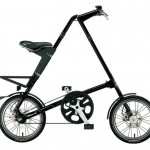 Vélo pliant Strida noir