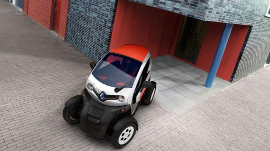 Renault Twizy, voiture électrique pour 2 personnes
