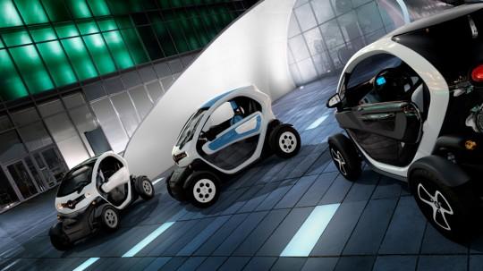 Renault Twizy, la voiture électrique nouvelle génération