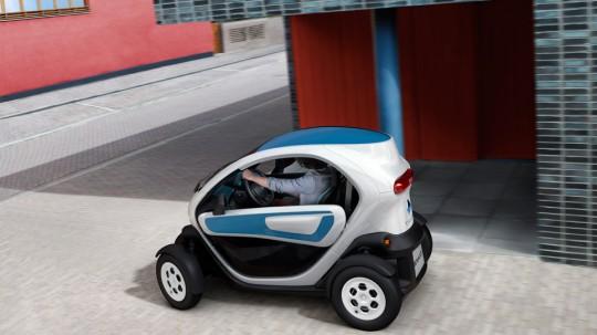 Voiture électrique design Renault Twizy