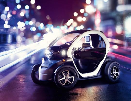 Renault Twizy Paris 2012