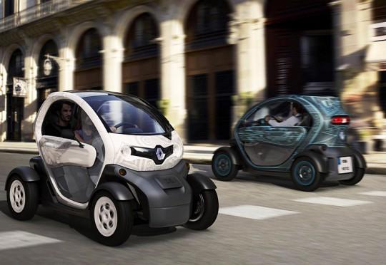 Renault Twizy, voiture électrique à Paris