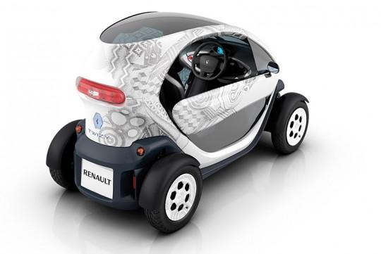 Renault Twizy vue de l'arrière