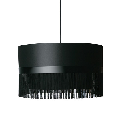 abat jour fringe 1 black by moooi. Black Bedroom Furniture Sets. Home Design Ideas