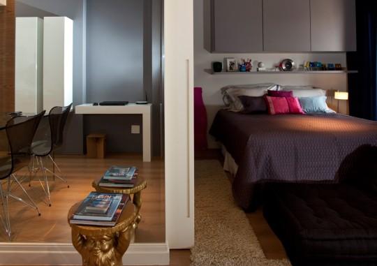 Petit appartement optimisé par un architecte d'intérieur