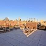 Terrasse avec vue panoramique sur New-York