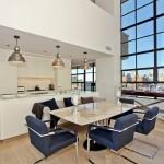 Cuisine d'un splendide penthouse à New-York