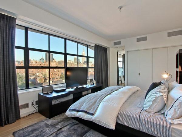 Un Superbe Penthouse En Duplex 224 New York