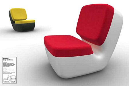 Fauteuil design Nimrod